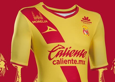 Camiseta titular de los Monarcas Morelia | Foto Pirma