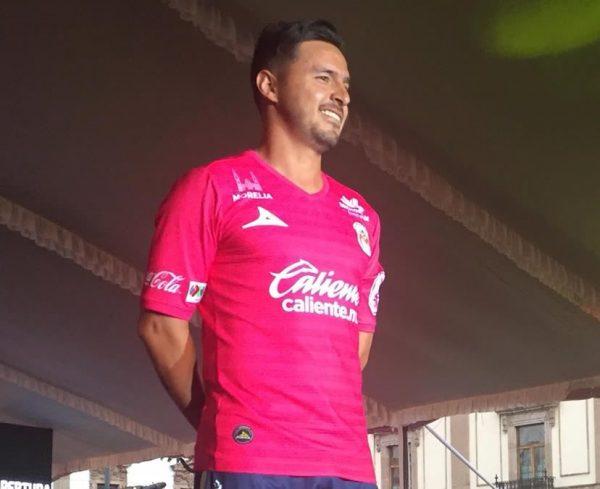 Tercera camiseta de los Monarcas Morelia | Foto Pirma