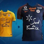 Camisetas del Montpellier | Foto Web Oficial