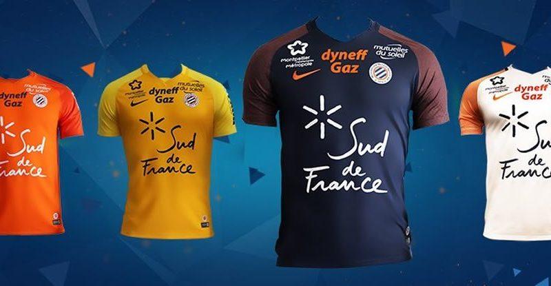 Camisetas del Montpellier   Foto Web Oficial
