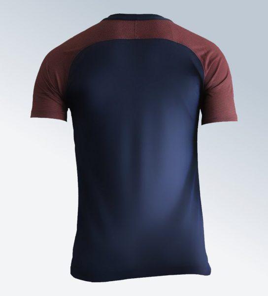 Camiseta titular del Montpellier | Foto Web Oficial
