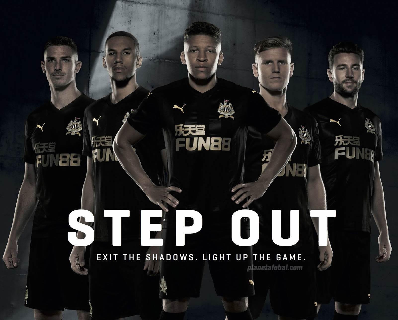 Tercera camiseta Puma del Newcastle United | Foto Twitter Oficial