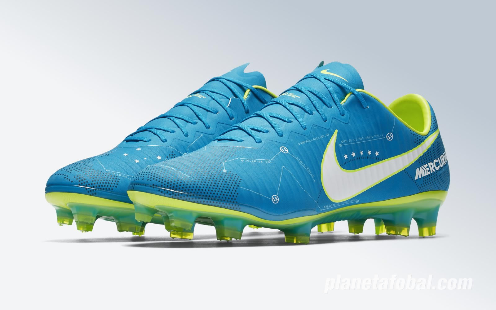 "Botines Mercurial Vapor ""Written in the stars"" de Neymar 