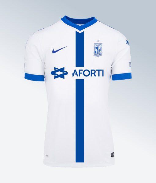 Camiseta suplente Nike del Lech Poznań | Foto Web Oficial