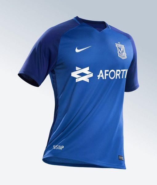 Camiseta titular Nike del Lech Poznań | Foto Web Oficial