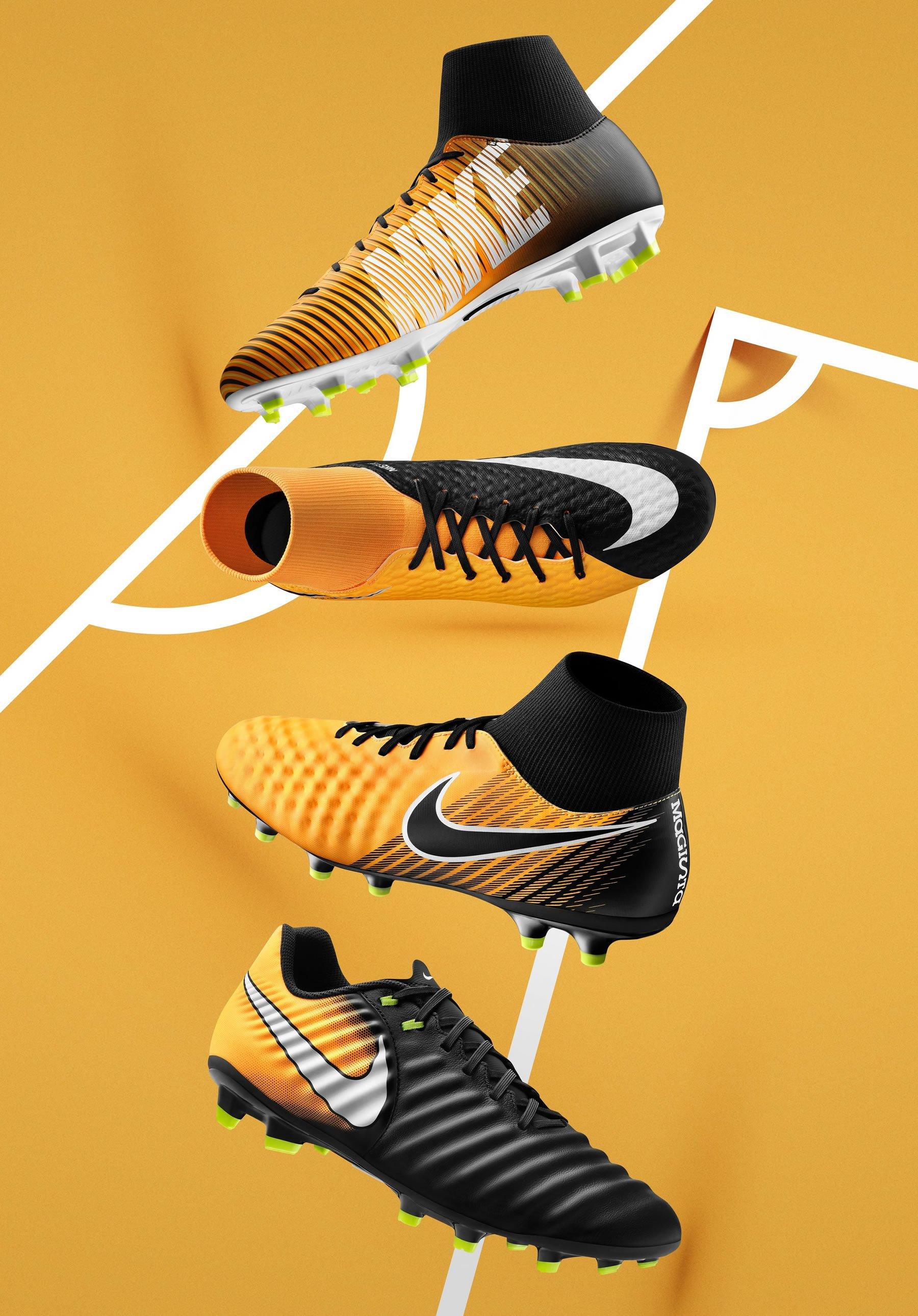 Nuevos colores de la temporada 2017-18 | Foto Nike