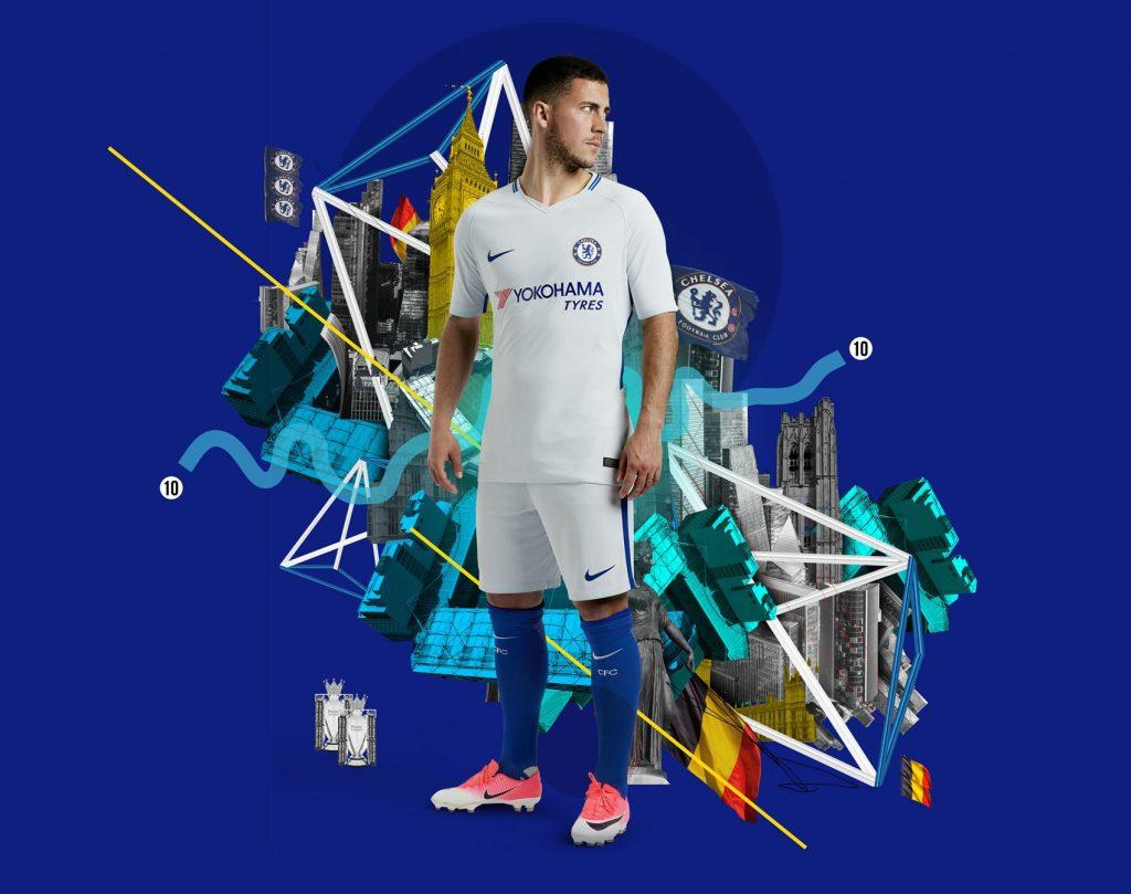 Camiseta suplente nike del chelsea 2017 2018 planeta fobal - Chelsea wallpaper 2018 hd ...