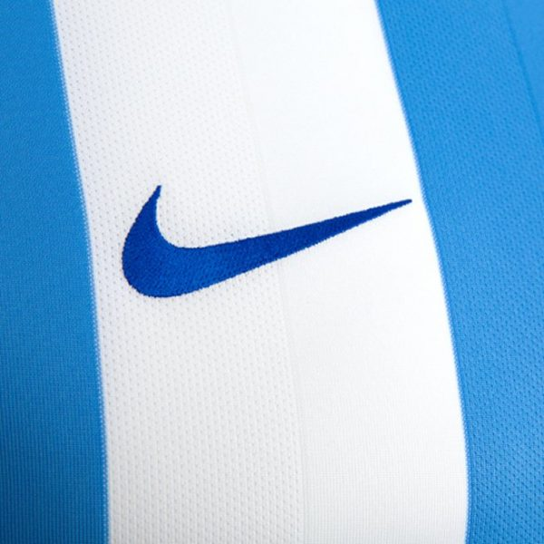 Camiseta titular Nike 2017-18 del Malaga CF | Foto Web Oficial