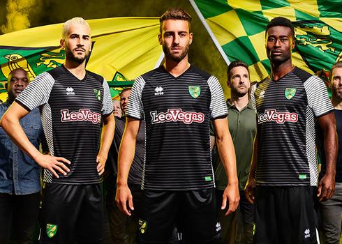 Nueva camiseta suplente del Norwich City | Foto Web Oficial
