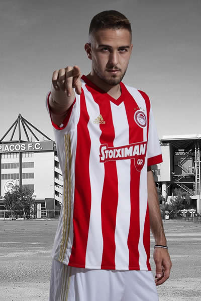 Camiseta titular del Olympiacos | Foto Adidas
