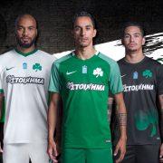 Camisetas Nike del Panathinaikos F.C   Foto Web Oficial