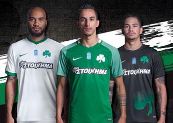 Camisetas Nike del Panathinaikos F.C | Foto Web Oficial