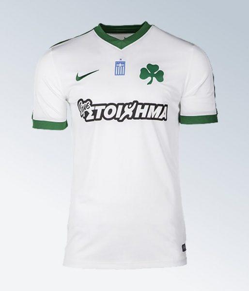 Tercera camiseta Nike del Panathinaikos F.C | Foto Web Oficial