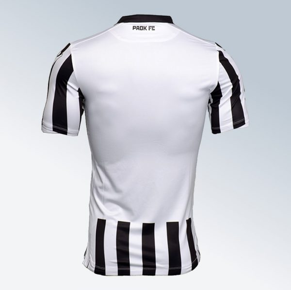 Camiseta titular Macron del PAOK | Foto Web Oficial