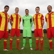 Camiseta titular Joma del Partick Thistle FC | Foto Web Oficial