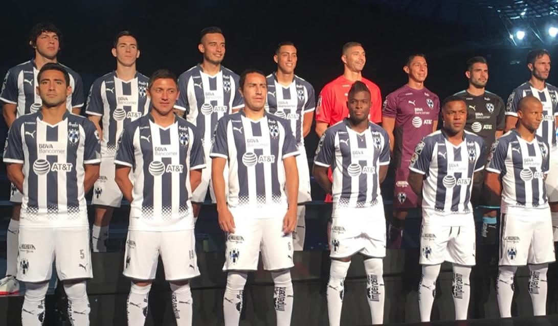 Camiseta titular Puma de los Rayados de Monterrey para el Apertura 2017 | Foto Twitter Oficial