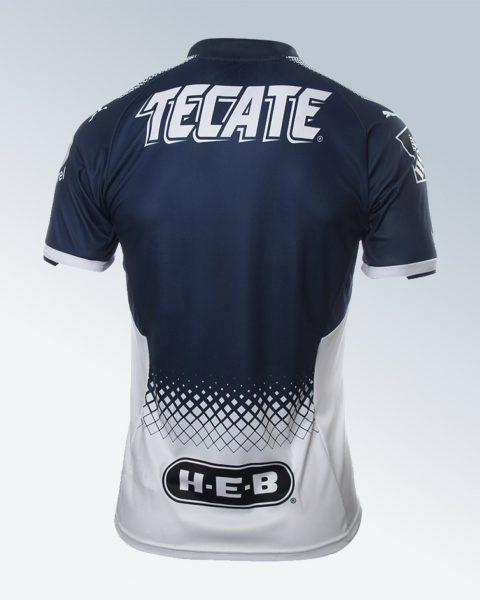 Camiseta titular Puma de los Rayados de Monterrey para el Apertura 2017 | Foto Tienda Oficial