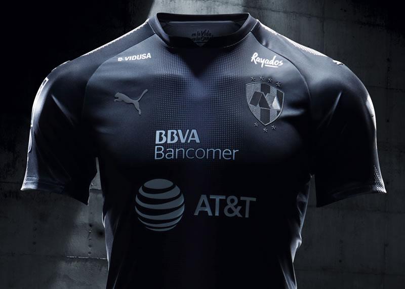 Camiseta de los Rayados de Monterrey   Foto Puma