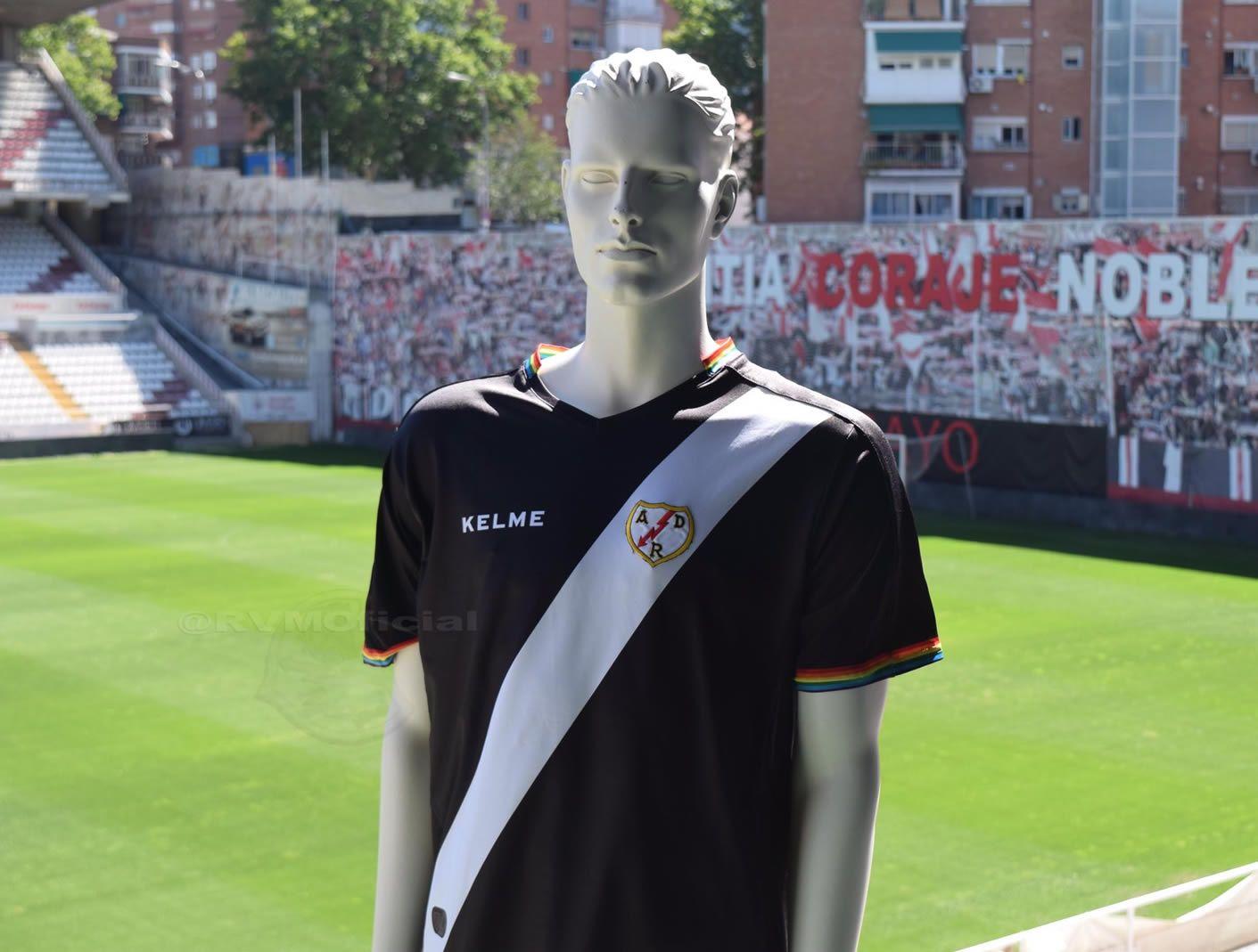 Tercera equipación Kelme del Rayo Vallecano | Foto Web Oficial