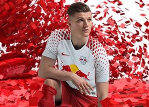 Camiseta titular Nike del RB Leipzig | Foto Web Oficial