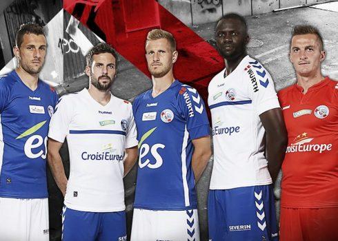 Camisetas Hummel del RC Strasbourg | Foto Web Oficial
