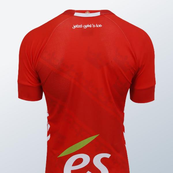Tercera camiseta Hummel del RC Strasbourg | Foto Web Oficial