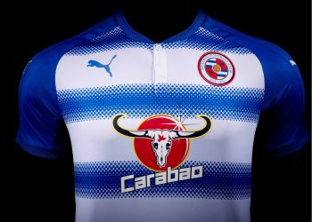 Camiseta titular Puma del Reading FC | Foto Web Oficial