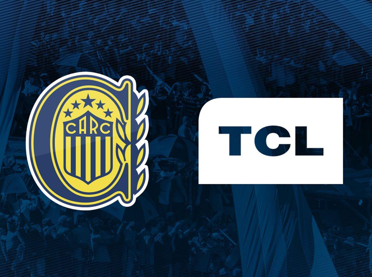 TCL será la nueva publicidad de la casaca de Rosario Central