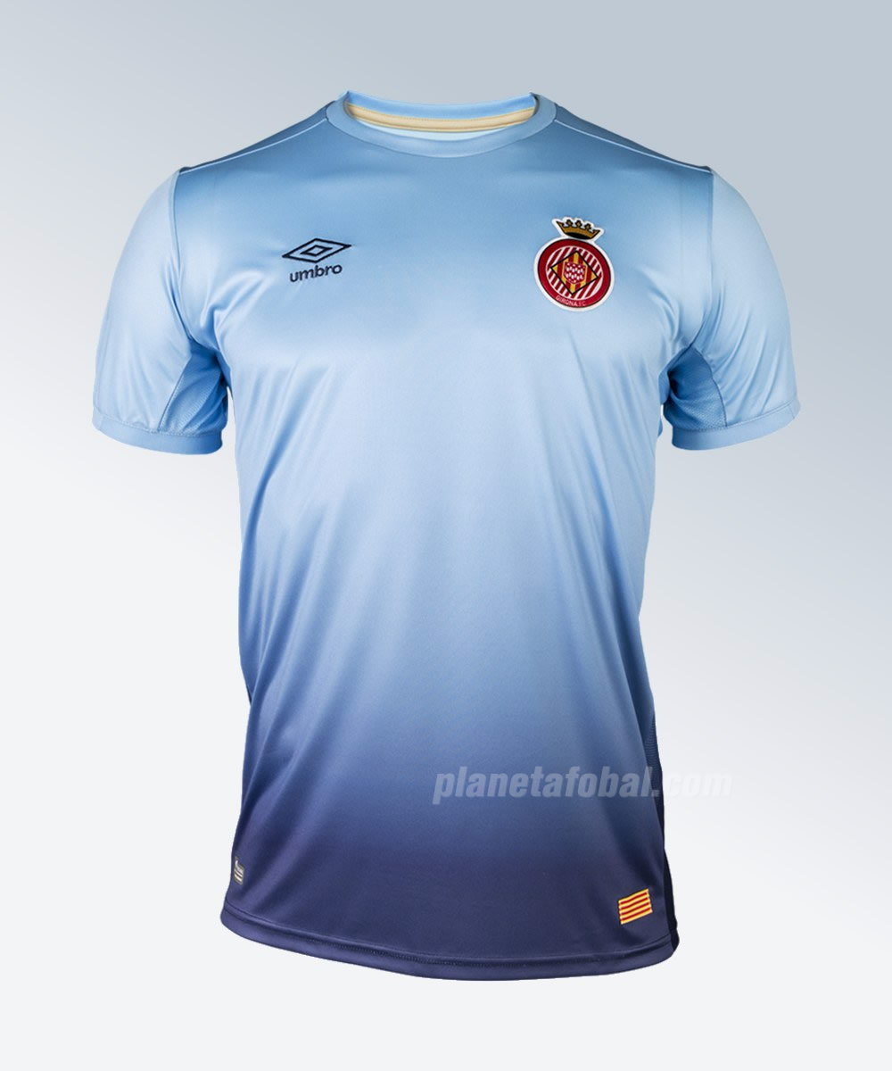 Camiseta suplente Umbro del Girona FC | Foto Web Oficial