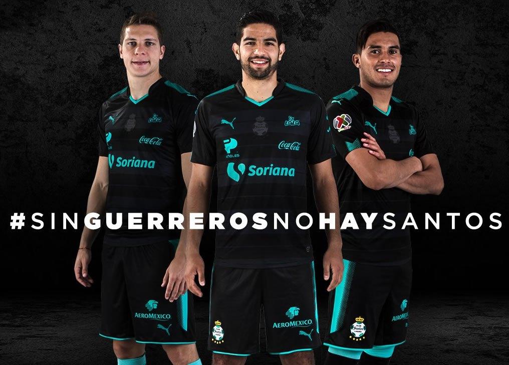 Camiseta suplente del Santos Laguna  | Foto Twitter Oficial