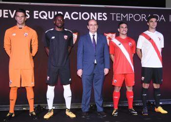 Nuevas casacas del Sevilla Atlético | Foto Web Oficial