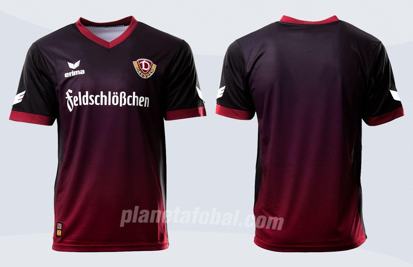 Camiseta suplente Erima del Dynamo Dresden | Imágenes Web Oficial
