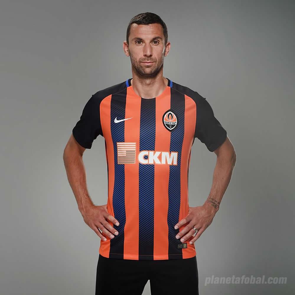 Camiseta titular Nike del Shakhtar Donetsk | Foto Web Oficial