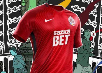 Camiseta titular Nike del Sparta Praga | Foto Web Oficial