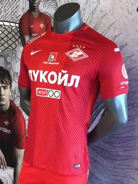 Camiseta titular Nike del Spartak de Moscú | Foto Spatark World