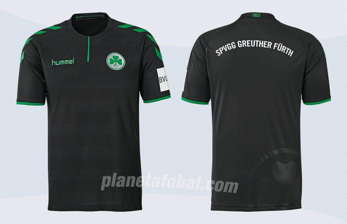 Tercera camiseta del SpVgg Greuther Fürth | Imágenes Web Oficial