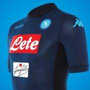 Tercera camiseta Kappa del Napoli para 2017/2018 | Foto Tienda Oficial