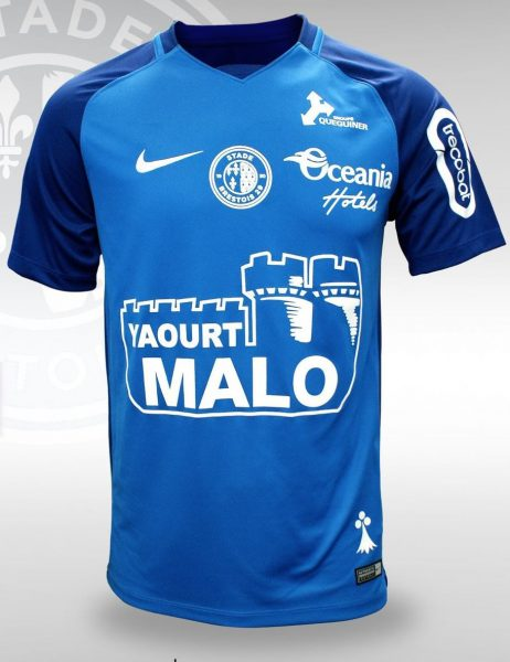 Camiseta suplente Nike del Stade Brestois | Foto Web Oficial