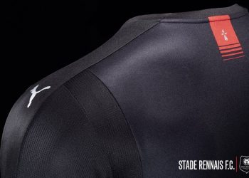Camiseta suplente del Stade Rennais | Foto Web Oficial