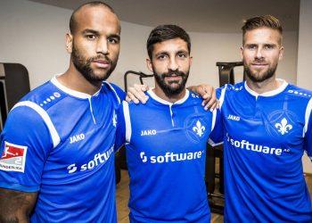 Camiseta titular Jako del SV Darmstadt 98 | Foto Web Oficial