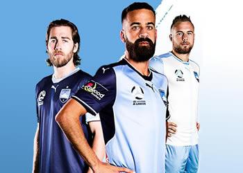 Nuevas camisetas Puma del Sydney FC | Foto Web Oficial