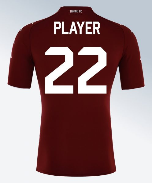 Camiseta titular del Torino FC | Imagen Kappa