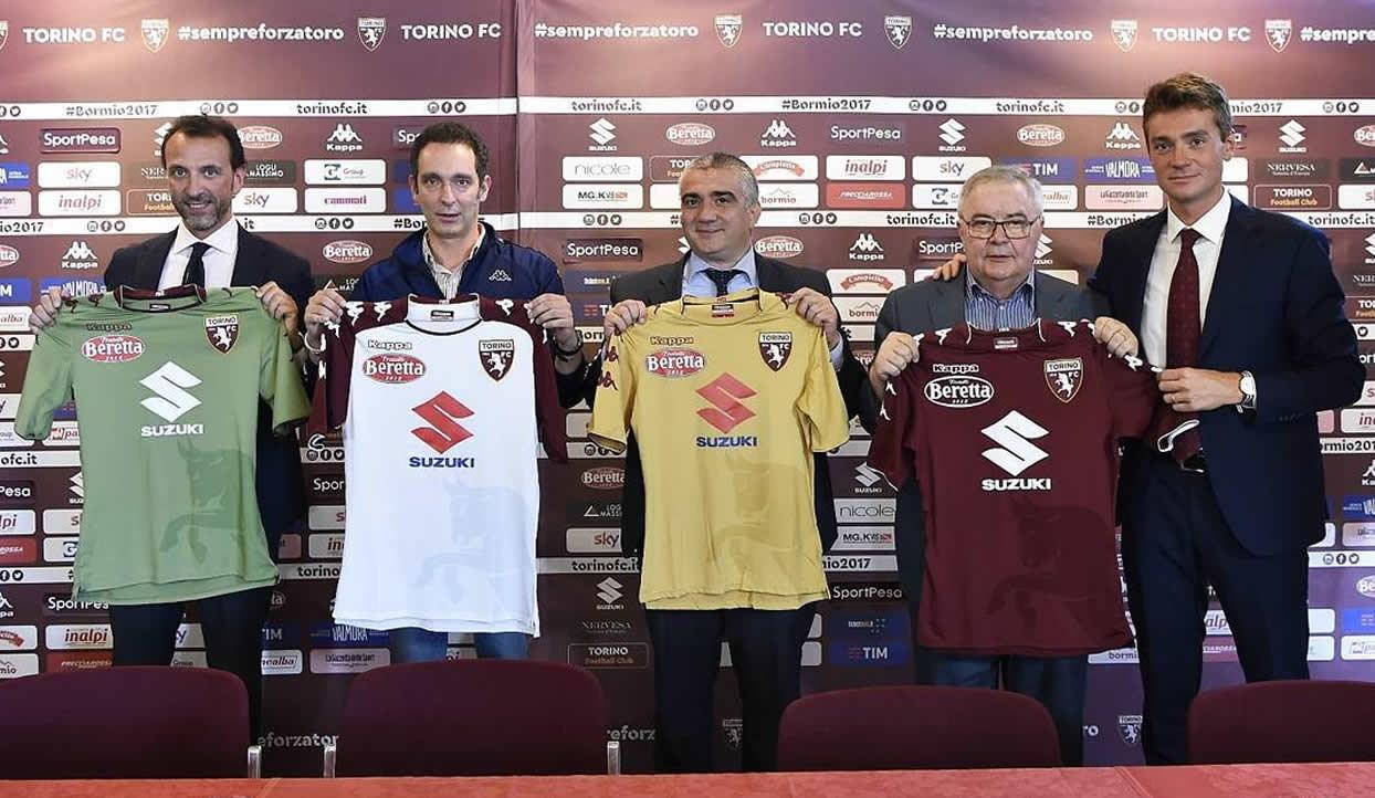 Camisetas Kappa del Torino FC | Foto Web Oficial
