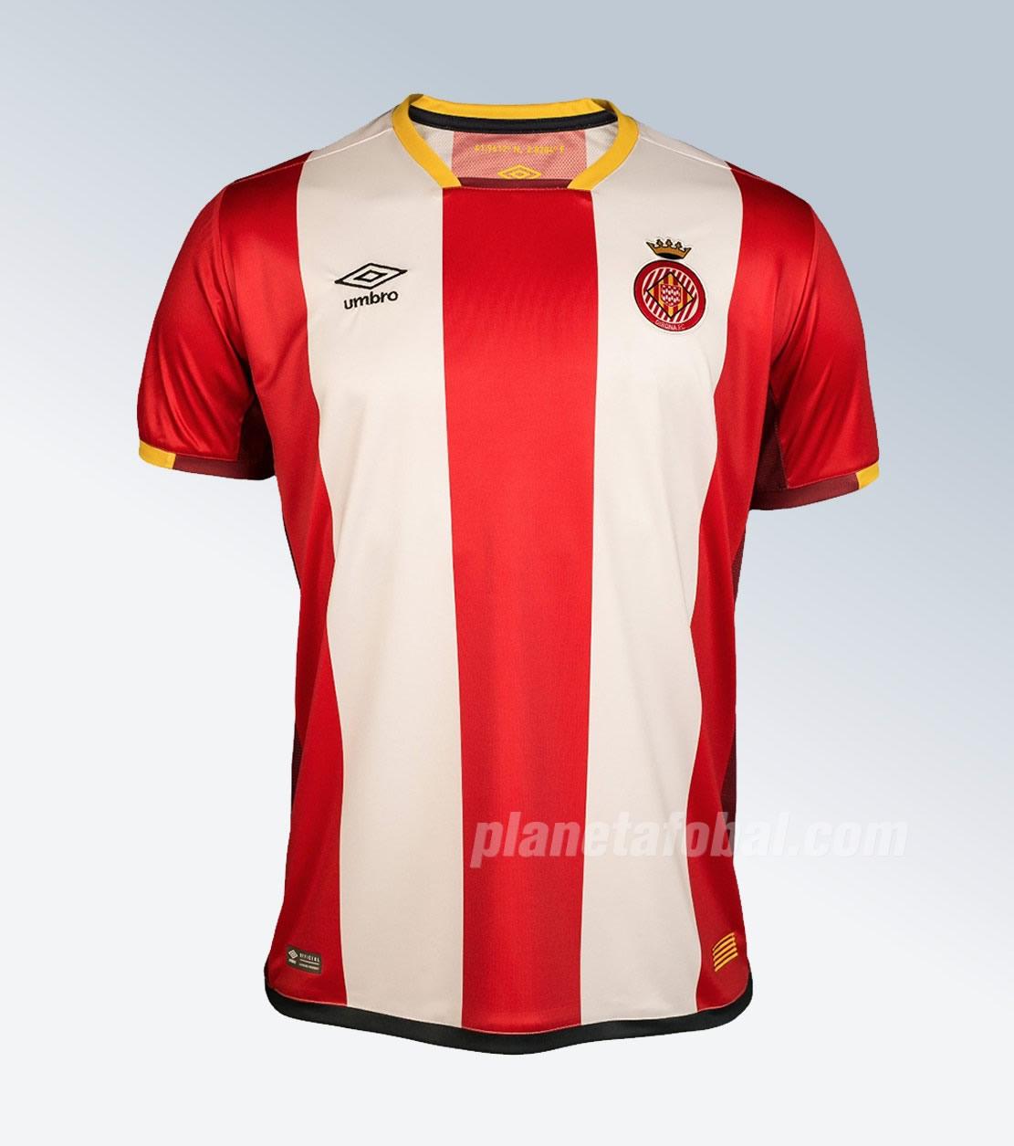 Equipación titular Umbro del Girona FC | Foto Web Oficial