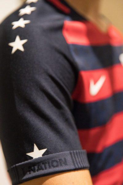 Camiseta de Estados Unidos para la Copa Oro 2017 | Foto USSoccer