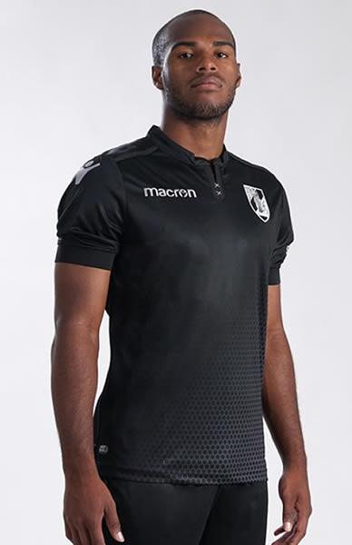Camiseta suplente Macron del Vitoria Sport Clube | Foto Web Oficial