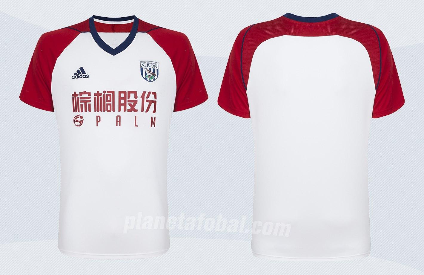 Camiseta suplente Adidas 2017-18 del WBA | Imágenes Web Oficial