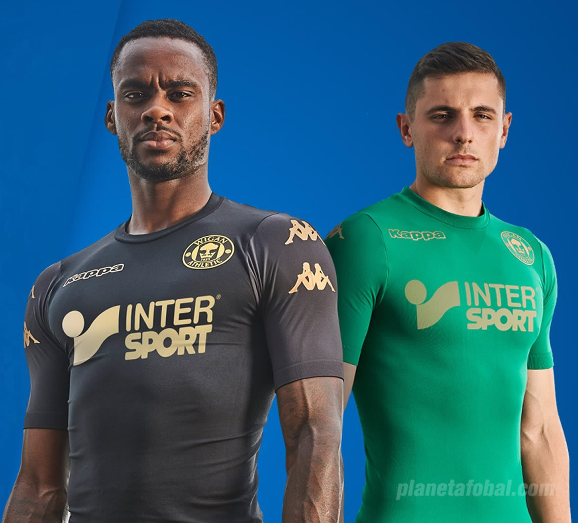 Nuevas camisetas alternativas del Wigan Athletic | Foto Web Oficial