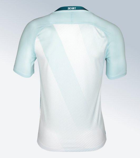 Camiseta suplente Nike 2017-18 del Zenit de Rusia | Foto Web Oficial
