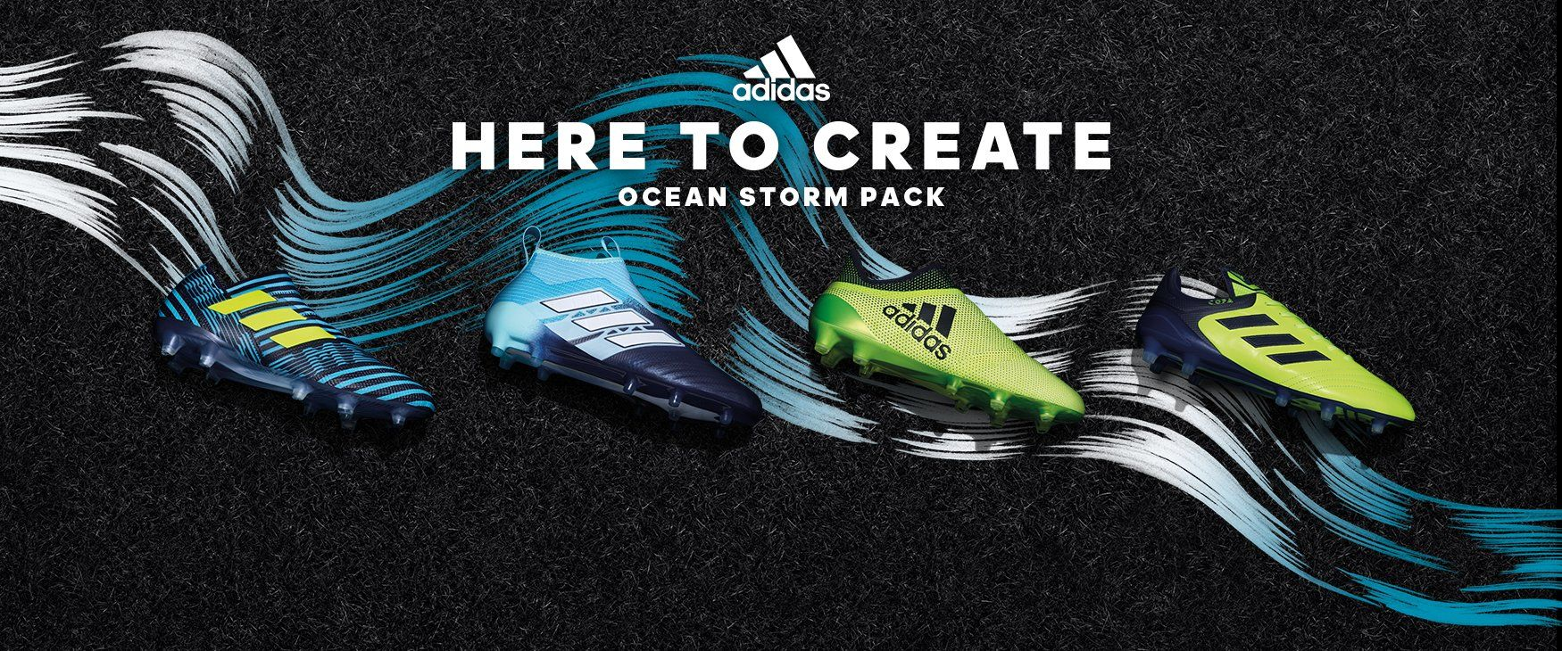 """Ocean Storm"" pack de los botines Adidas"